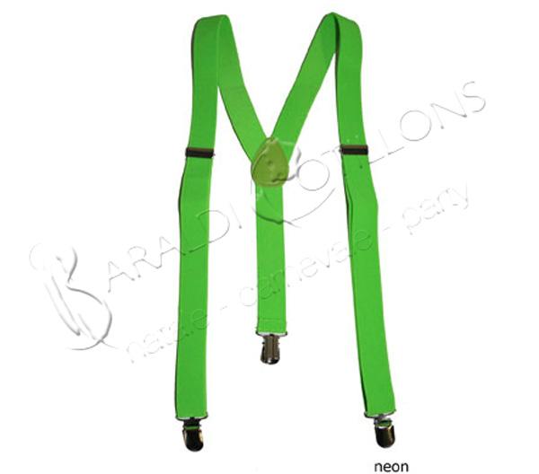 Bretelle fluo verdi