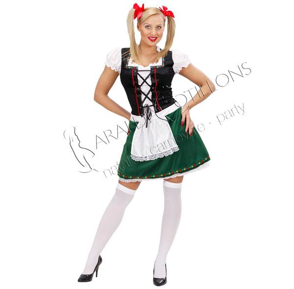 Costume bavarese donna festa della birra