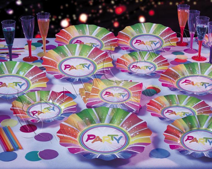 Piatti party in confezione da 10 pezzi