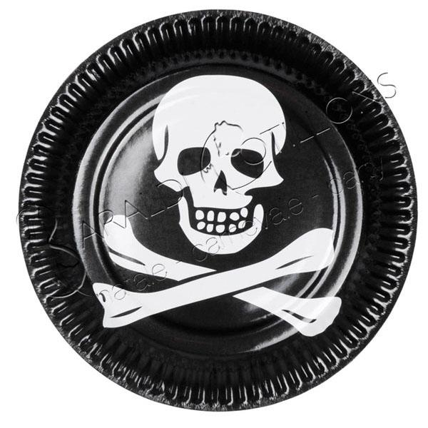 Piatti per festa pirata