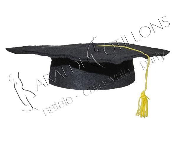 Cappello laureato adulto economico