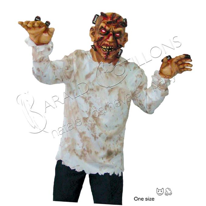 Costume da Zombie con Lamette