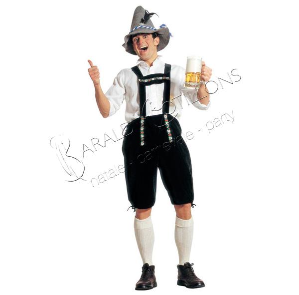 Costume bavarese festa della birra
