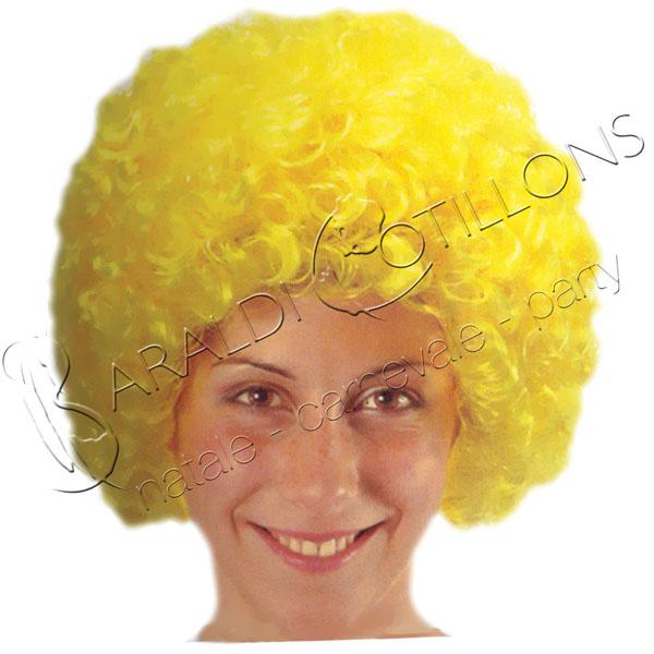 Parrucca ricciolina gialla
