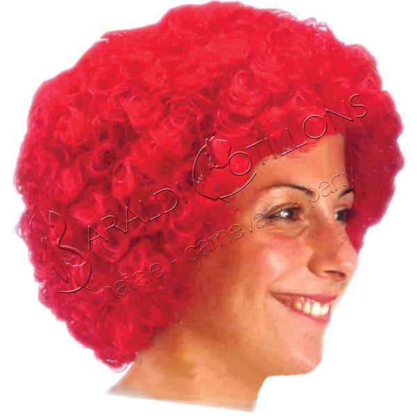Parrucca ricciolina rossa