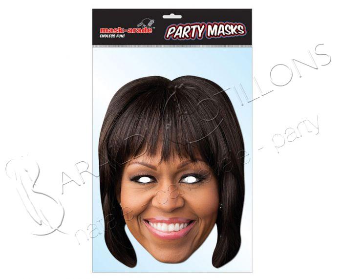Maschera di Michele Obama