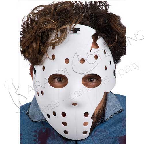 Maschera bianca stile Jason Venerdì 13
