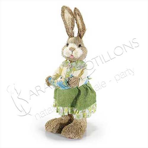 Coniglio di Pasqua decorativo grande