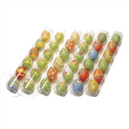 Uova di Pasqua maxi in tubo da 6 pezzi
