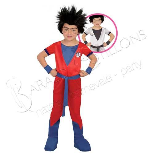 Costume stile Goku bimbo 7 - 9 anni