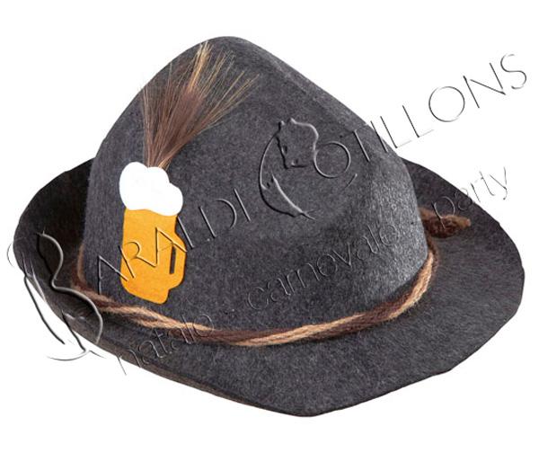 Cappello bavarese festa della Birra