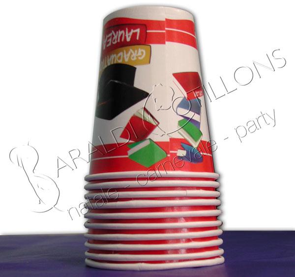 Bicchieri per festa di Laurea
