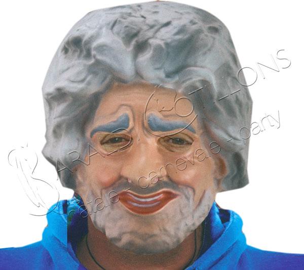 Maschera Beppe in eva