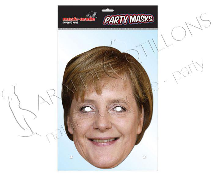 Maschera da Angela Merkel