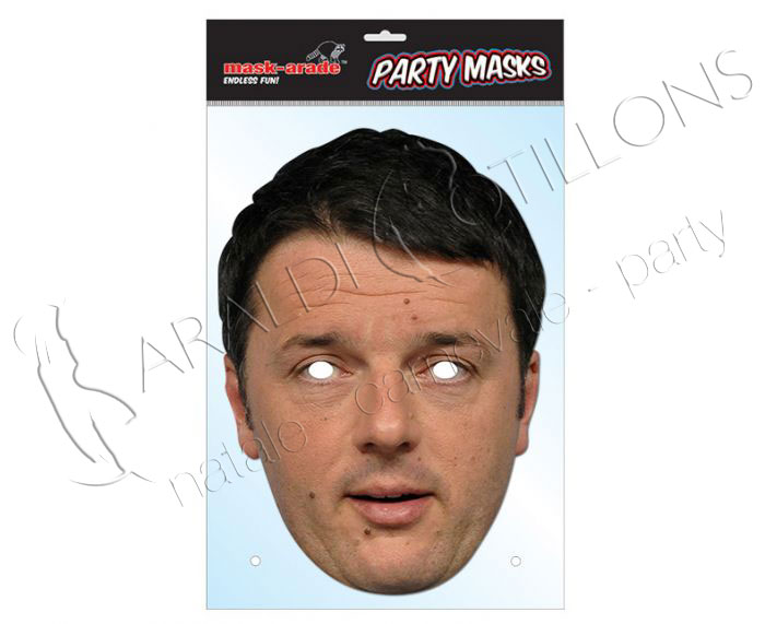 Maschera Matteo Renzi