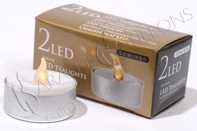 Candeline tealight a LED
