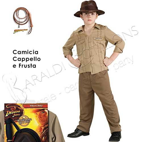 Costume Kit Indiana Jones Bimbo 4 - 5 anni