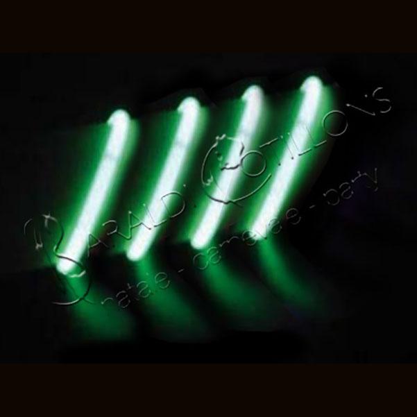 Braccialetti luminosi verdi conf 100 pz