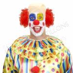 Calotta da Clown in lattice - vk161