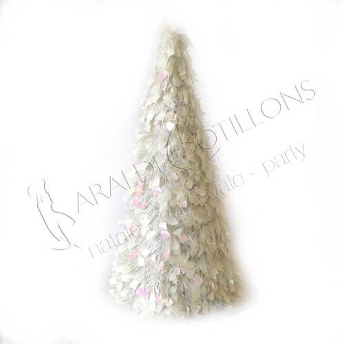 Alberino di Natale Bianco cm 60
