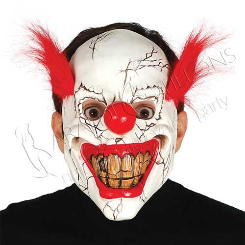 Maschera clown del terrore