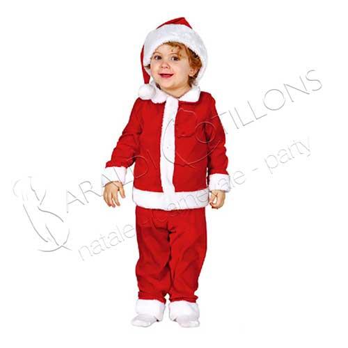 Costume babbo natale baby 12 - 24 mesi