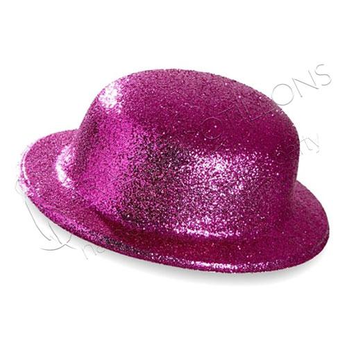 Bombetta Glitter Rosa
