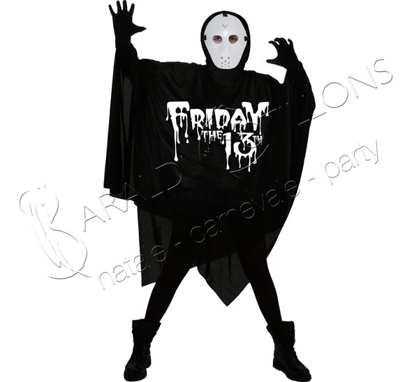Costume Jason con maschera