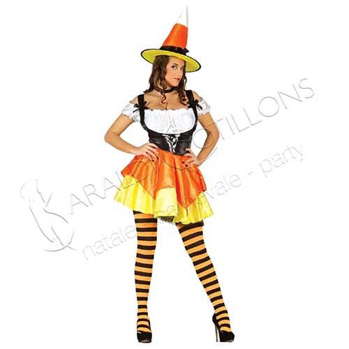 Costume Strega Candy Witch
