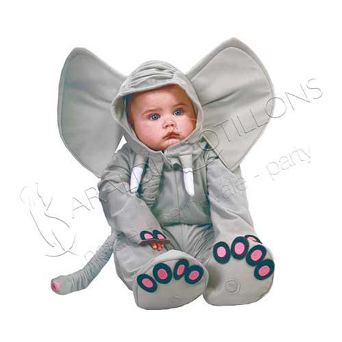 Costume Elefante Baby 12 - 24 mesi