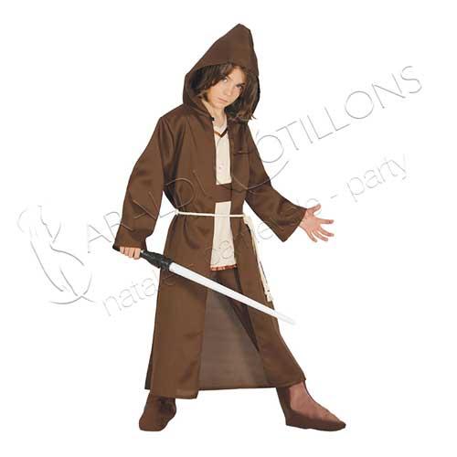 Costume Stile Obi Wan Kenobi Bimbo 7 9 Anni Decorazioni Gadgets