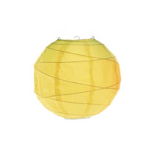Globo Lanterna in carta Gialla cm 40