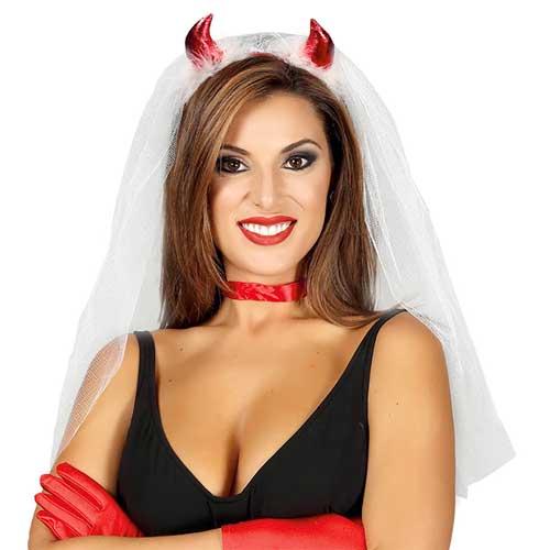 Velo da sposa diavoletta