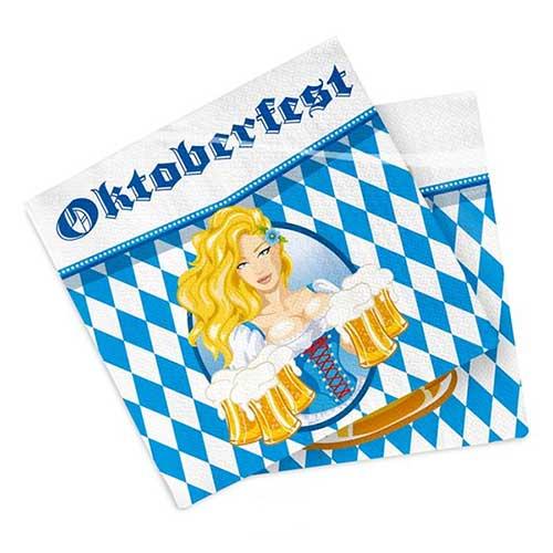Tovaglioli Oktoberfest 20 pezzi