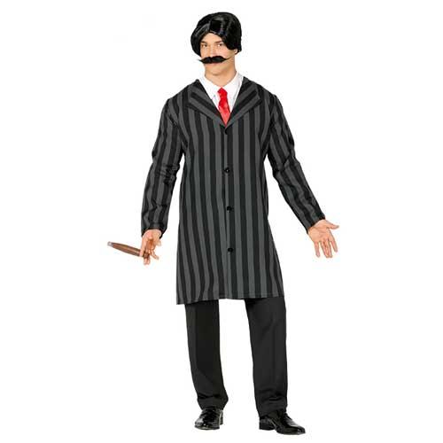 Costume stile Gomez Addams