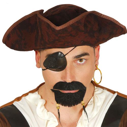 Cappello Tricorno Pirata
