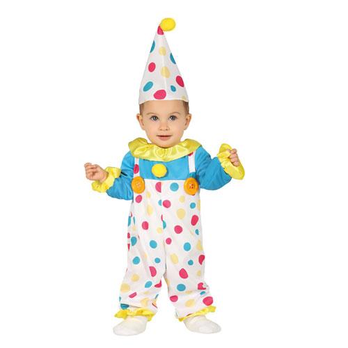 Costume Pagliaccio Baby 12 - 24 mesi