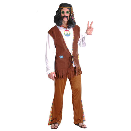 Costume Hippie uomo tg. 48/50
